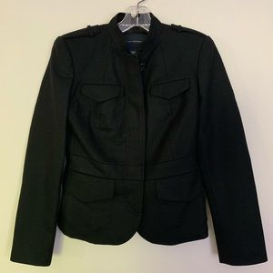 Banana republic wool military style jacket